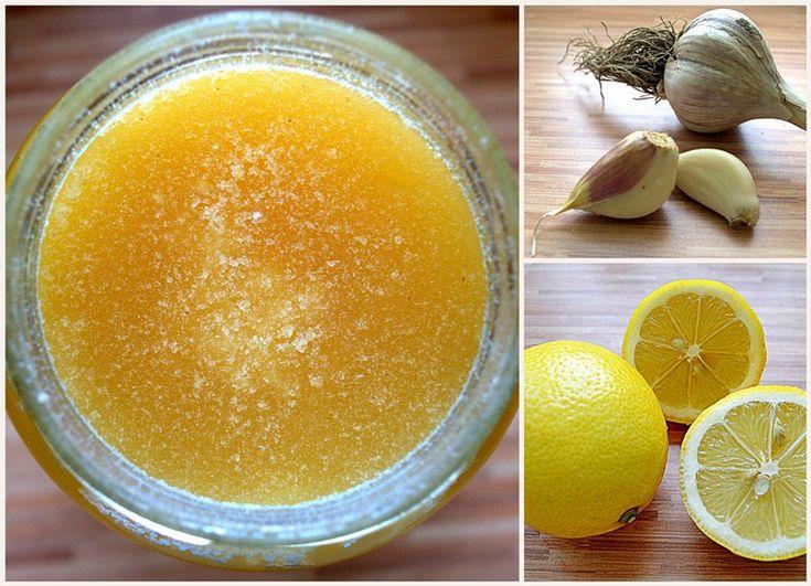 syrop z czosnku , miodu i cytryny - czyli jak wygrać z grypą i przeziębienim cz.2