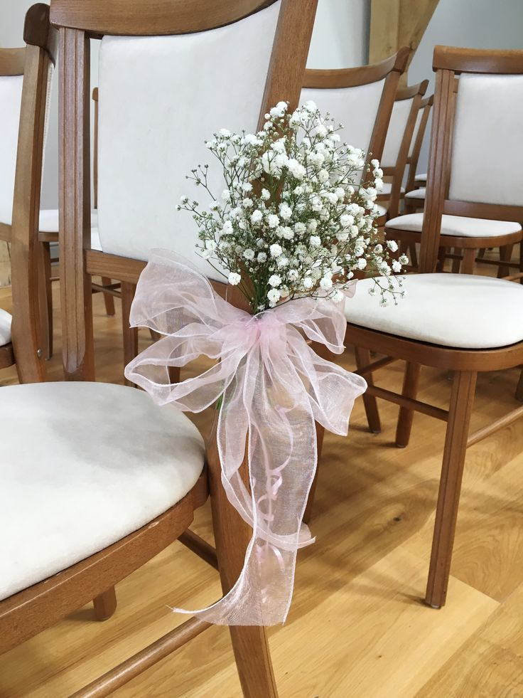 Helen and Hayley wedding | Pew Ends | Created and supplied by Triangle Nursery Ltd