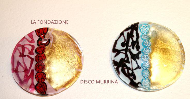 Disco Murrina...Murano Glass Jewel