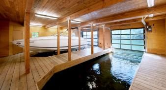 Muskoka Boathouse. Image: 5