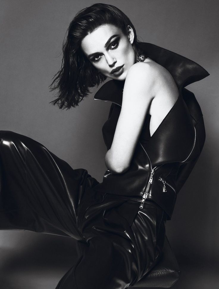 """Needs no further - KK <3  """"Keira Knightley by Mert Alas & Marcus Piggott for Interview April 2012, styled by Karl Templer"""""""