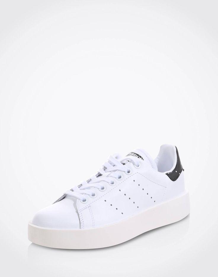 Sneaker aus Leder mit Plateau 'Stan Smith Bold'
