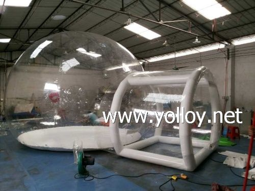 Yolloy clear inflatable lawn bubble tent for outdoor for sale & 25 best Clear Inflatable Dome Tents | Yolloy images on Pinterest ...