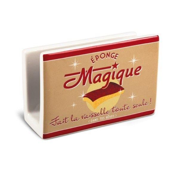 """Porte éponge """" éponge magique """" natives déco rétro vintage - Provence Arômes Tendance sud"""