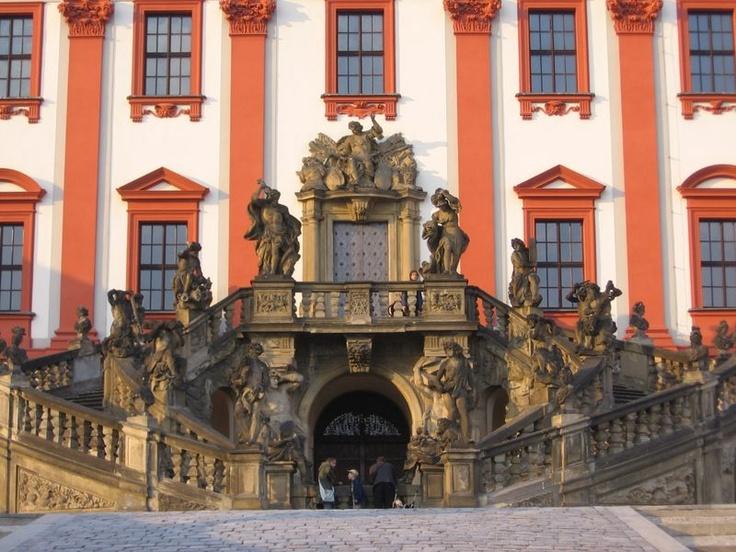 Česko, Praha - Trojský zámek - Vstup