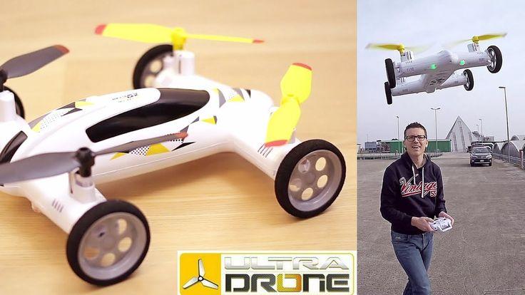 E' una macchina telecomandata ma anche un drone, insomma una macchina volante! E la Flying Car XW18.0 della linea Ultradrone di Mondo Motors con tecnologia S...