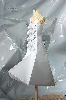 Paper Dress No. 13  by Tobias Binderberger