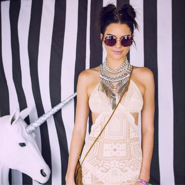Here's How Famous People Do Coachella #refinery29 http://www.refinery29.com/2016/04/108525/celebrities-coachella-music-festival#slide-9 We can't get over this look. What better place than Coachella for Kendall Jenner to channel her inner — and outer — unicorn? ...