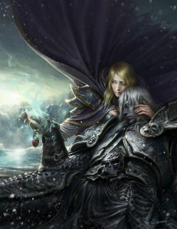 Jaina Proudmoore Warcraft art, Warcraft, World of warcraft
