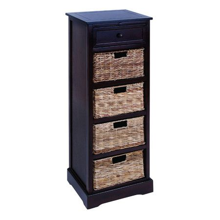 17 best images about accent cabinet on pinterest corner - Wicker bathroom storage cabinets ...