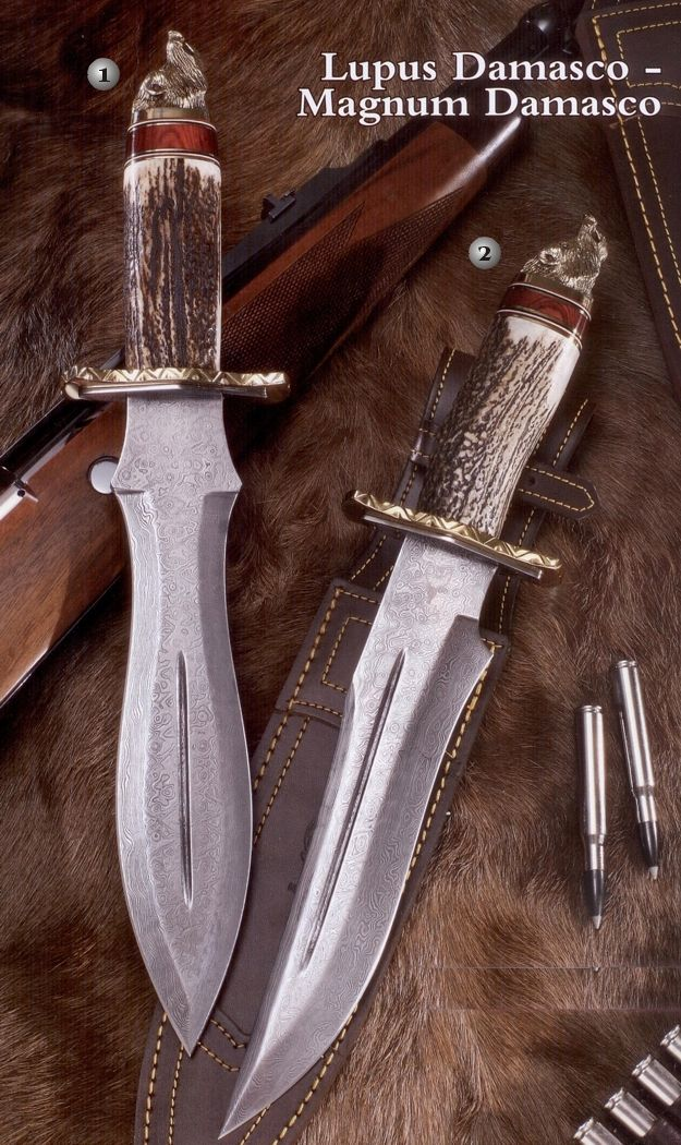 Muela Lupus-25Dam.c knife.  Muela Magnum-23Dam.c knife  http://www.aceros-de-hispania.com/cuchillos-muela/cuchillos-lupus-magnum.asp?producto=muela-lupus-magnum