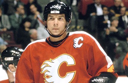 "Theo Fleury. At 5'6"", pound for pound the toughest guy ever. Legend."