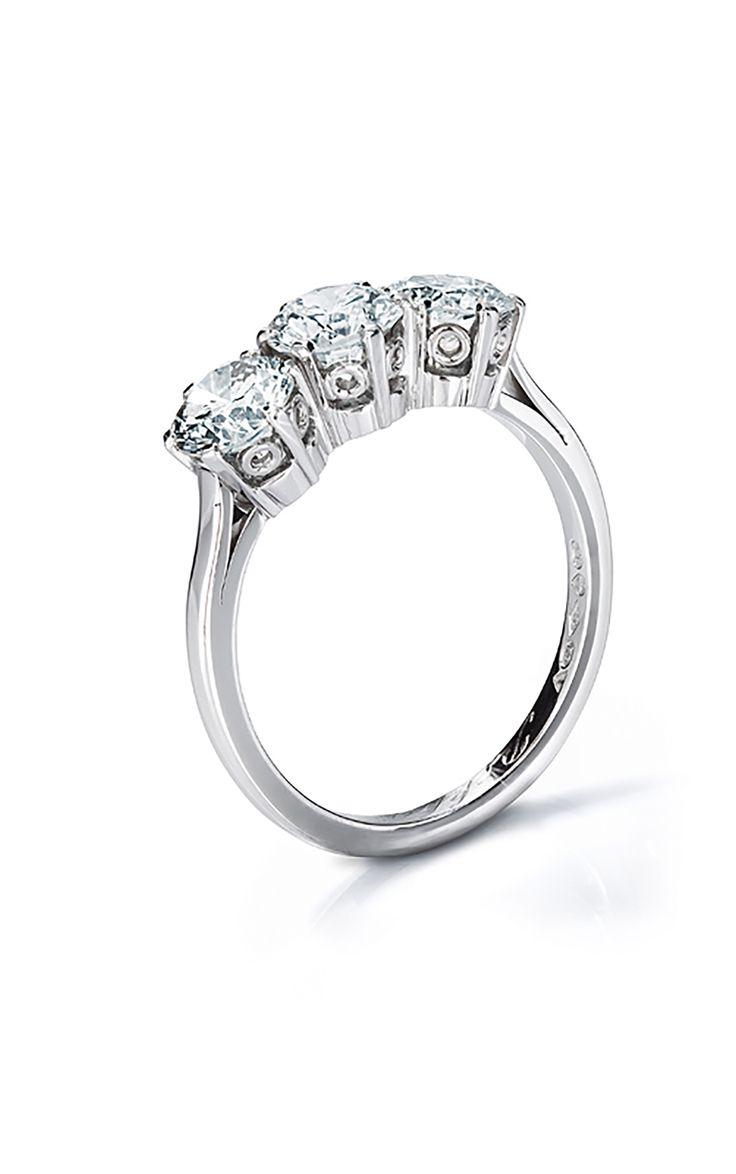 A Three Stone Ring
