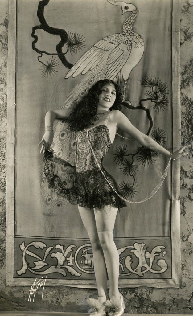 Silent film actress Olive Borden as photographed by Max