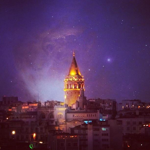 Istanbul, Galata Tower.
