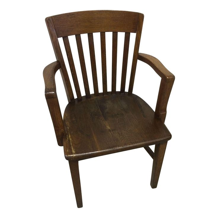 The Find Furniture: Early 1900s Milwaukee Chair Co Bankers Chair On Chairish