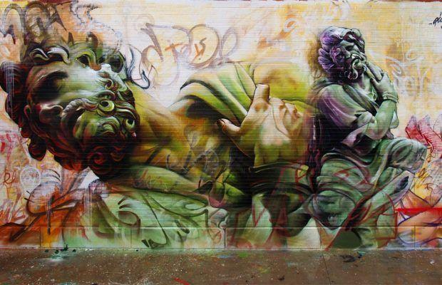 Sokak Sanatını Mitolojiyle Harmanlayan İkili: Pichi