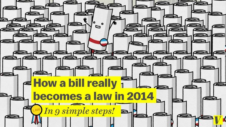How a bill really becomes a law: What Schoolhouse Rock missed
