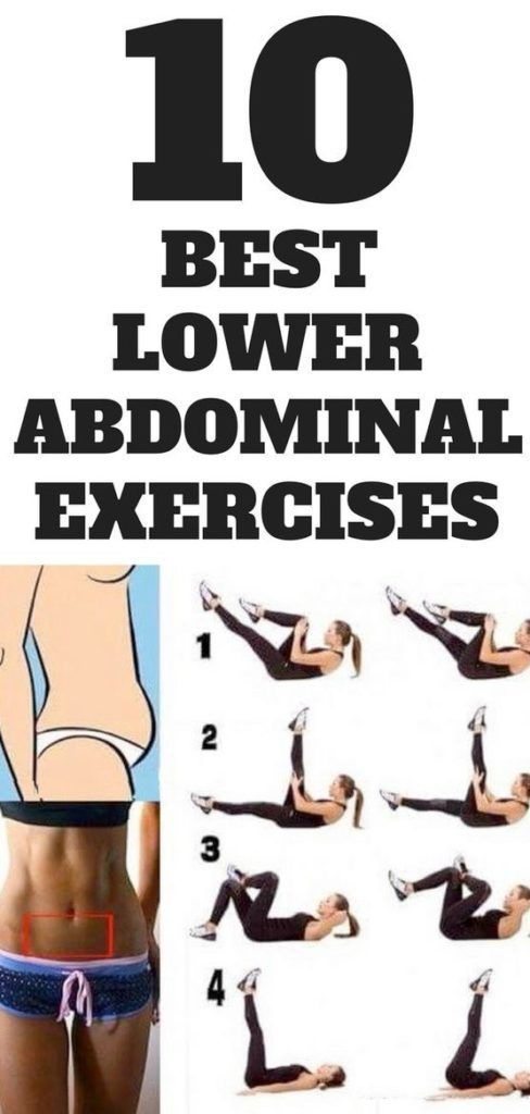 10 Best Moves To Work Your Lower #Abs