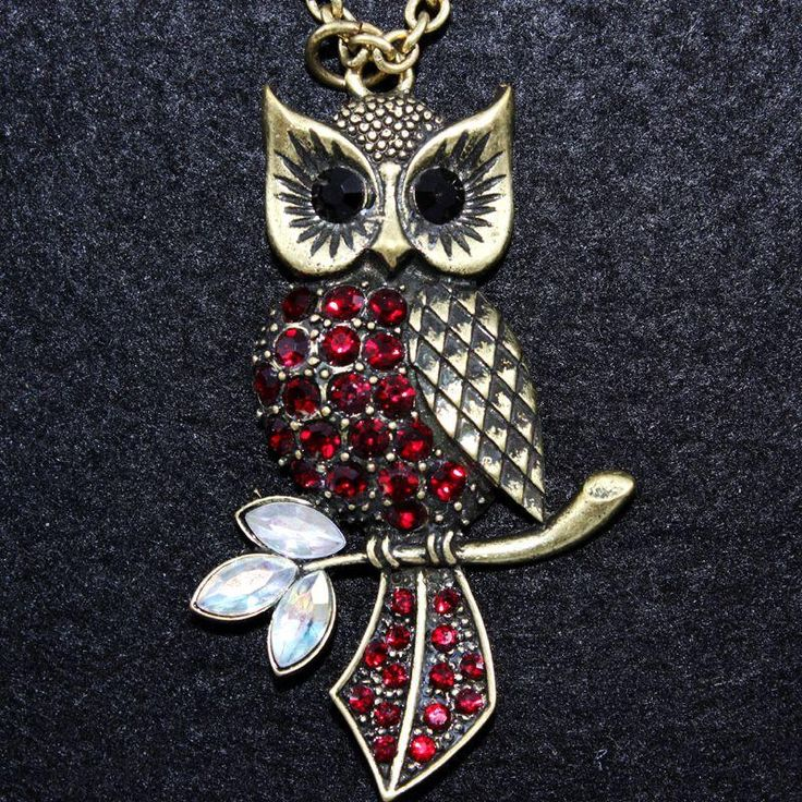 owl jewelry vintage - Bing Images. This would even be cute as a tattoo.