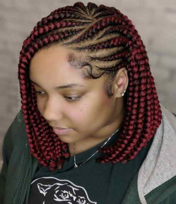 Better Lemonade Braids Than Beyonce Wears Curly Craze In 2021 French Braid Hairstyles African Hair Braiding Styles Bob Braids Hairstyles