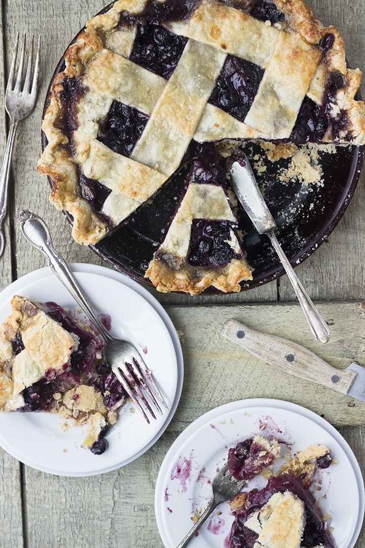 Blueberry Pear Pie is new to me, but it's certainly a combination of fruits that I'm excited to try again! Just as a note, the recipes here are intertwined – make the crust and the filling as you can. Both components can be made in advance.