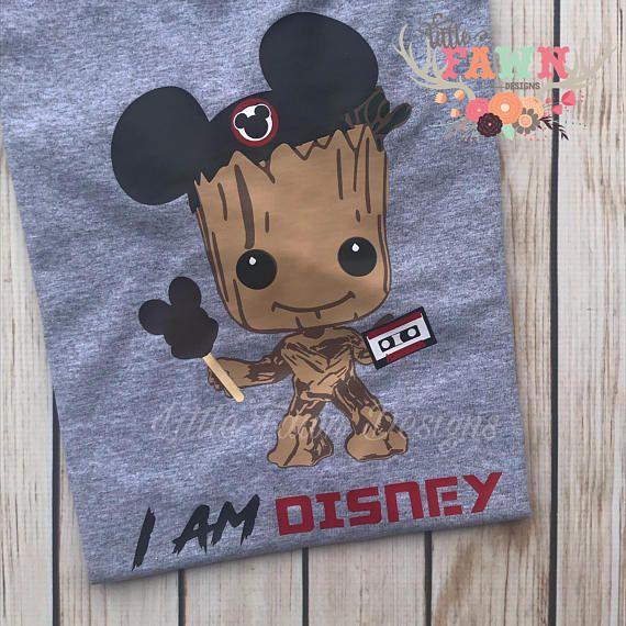 Groot I am Disney T-Shirt Disneyland Disney World Mickey