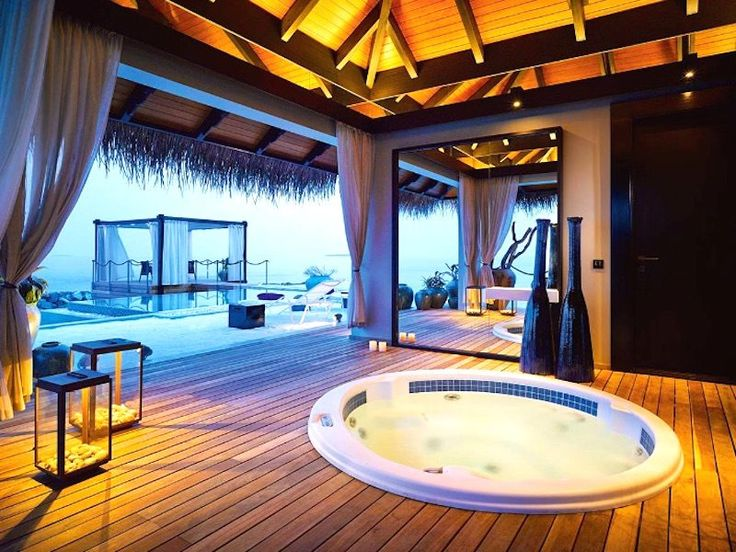 Romantic Getaways to <strong>Put a Ring On It!</strong> PRICE #LUXURyRESORTMALDIVES, #PRICELUXURY #RESORTSRILANKA, #PRICELUXURY #ROMANTICRESORT MAURITIUS, #ROMANTICGETAWAYS, #ROMANTIC #POOLRESIDENCE  #bathroomwithview #sexyroomideas