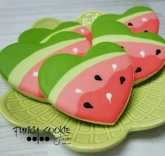 Watermelon (Heart Cookie Cutter)