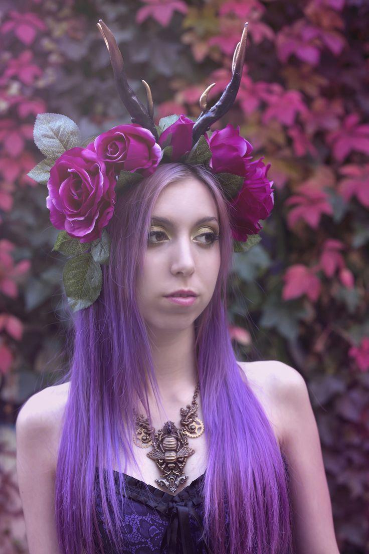 Handmade headpiece by Sara Salcedo Design Photography by Sara Salcedo Art