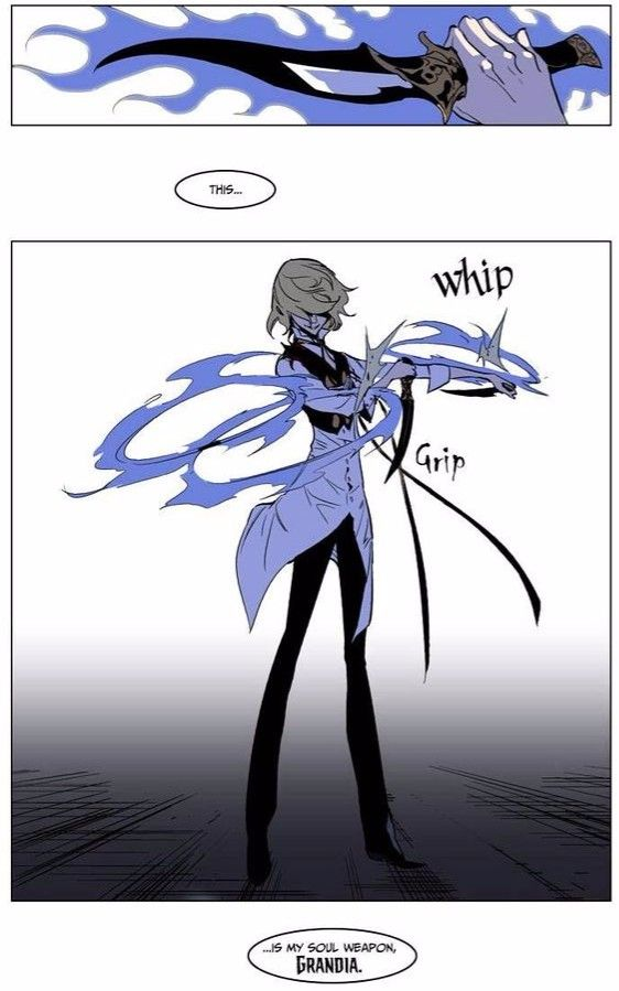 Noblesse - Rael and his Soul Weapon. | Noblesse ...