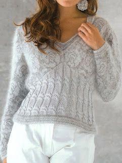 Free Knitting Patterns: Sweaters knit