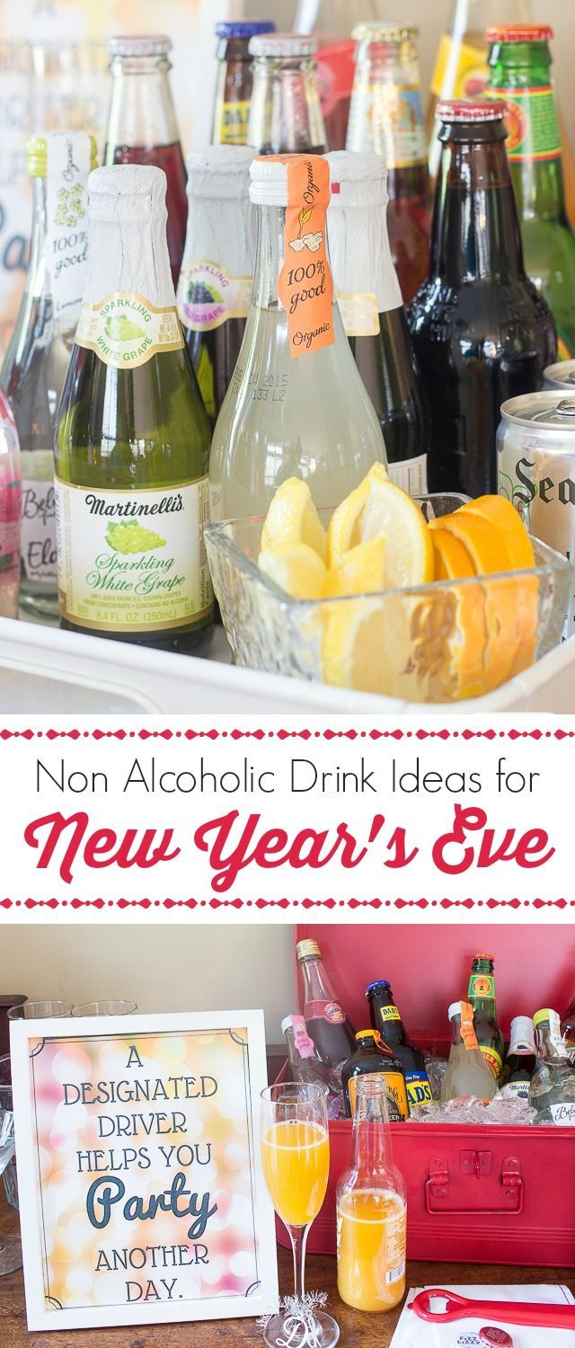 Non Alcoholic Drinks for New Year's Eve