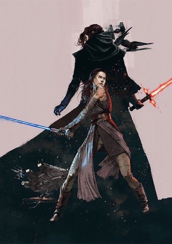 A closer look at Marc Aspinall's cover art for BMD's commemorative issue celebrating the release of Star Wars: The Last Jedi.