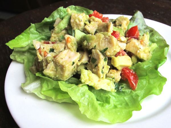 Chicken Avocado Salad   Recipe Rebuild