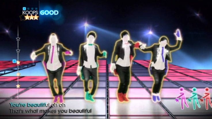 Just Dance 4 - One Direction - What Makes You Beautiful - Fun brain break dance!