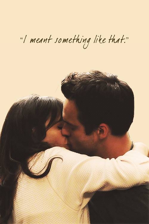 Nick & Jess from New Girl!! I'm so invested in their relationship <3