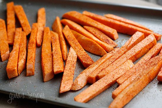 Baked Chipotle Sweet Potato Fries. Make your own! :D