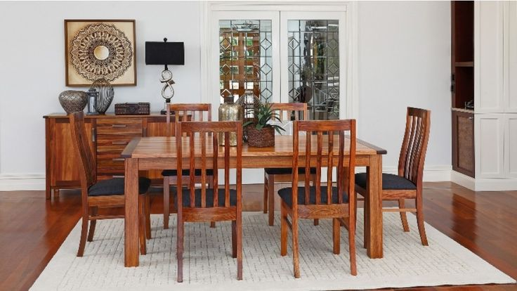 Canberra 7 Piece Dining Setting - Dining Furniture - Dining Room - Furniture, Outdoor & BBQs   Harvey Norman Australia