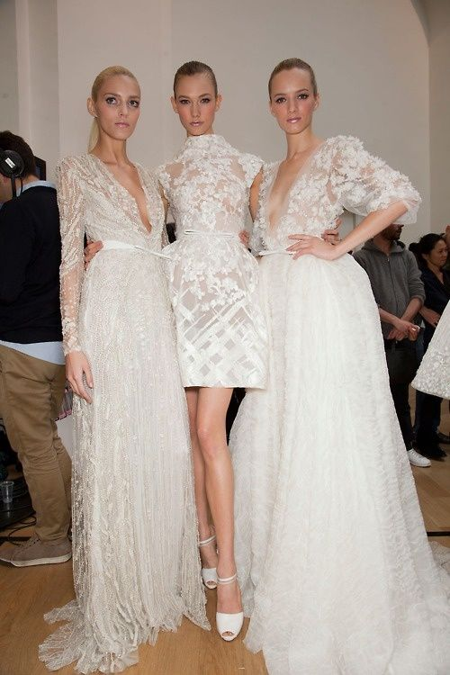 Chanel Couture wedding dress (vestidos de noiv Chanel?