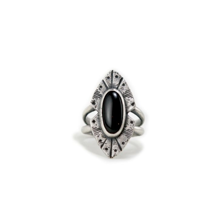 Rogue River Ring - Onyx