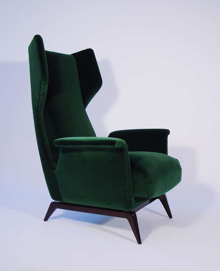 A Breathtaking Pair Of Italian 1950's Armchairs | From a unique collection of antique and modern armchairs at http://www.1stdibs.com/furniture/seating/armchairs/