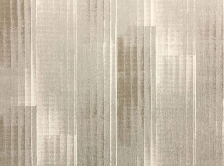 Inspired by the architectural columns of ancient Greece. Doric Wallcovering combines neutral tones and metallic shades with a structured, linear emboss that adds a modern, industrial element. Embossed Vinyl Wallcovering Upholstery Fabrics, Prints, Drapes & Wallcoverings