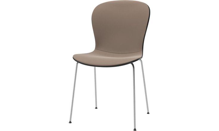 Matstolar - Adelaide stol - Grå - Läder