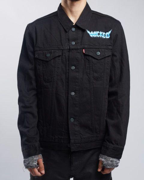Wicked Jacket – Black | Freebandz Clothing