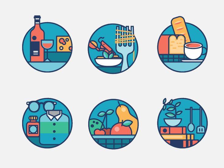 Icon design for Chelsea Market
