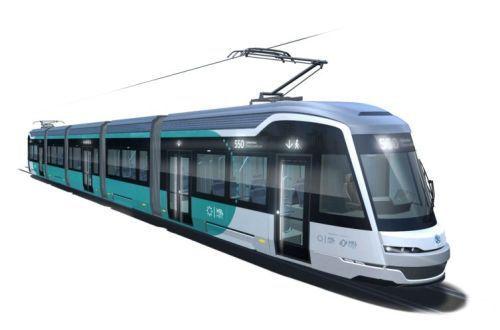 Raide-Jokeri LRV design concept revealed