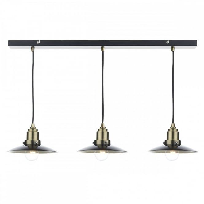 32 best kitchen pendant lights images on pinterest kitchen add the dar lighting hannover 3 light bar pendant black antique brass to your home this pendant bar looks great hung over a breakfast area or dining area aloadofball Choice Image