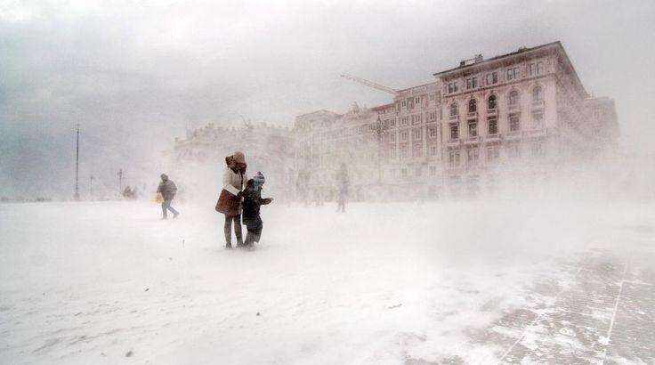 tryagaindairy: Winter in Trieste Italy