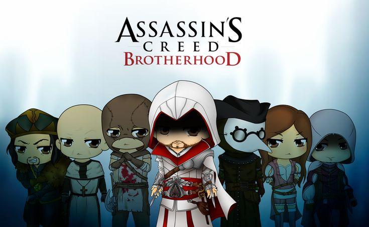 Assassins Creed Brotherhood by Mibu-no-ookami